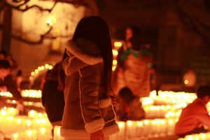 幸せのクリスマスの灯